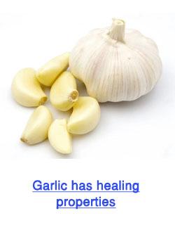 garlic heals